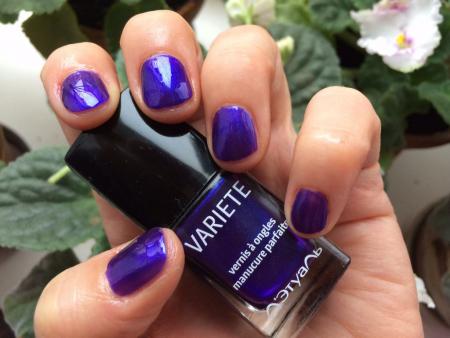 Лак для ногтей VARIETE (оттенок № 437 Cirgue violet) от Л'этуаль