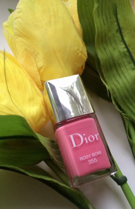 Лак для ногтей Dior Vernis (оттенок № 355 Rosy Bow) от Dior