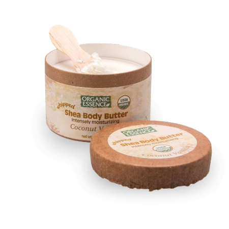 """Взбитое масло ши для рук и тела """"Ваниль и кокос"""" от Organic Essence"""