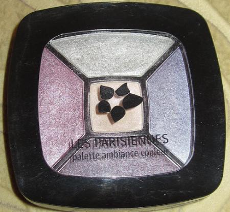 "Пятицветные тени для век ""LES PARISIENNES palette ambiance couleur"" (оттенок № 906 Cafe a st.germain) от Л'Этуаль"