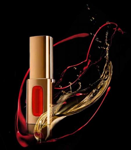 Лаковая губная помада L'Extraordinaire Color Riche (оттенок № 104 Dansing Rose / Розовый вальс) от L'Oreal