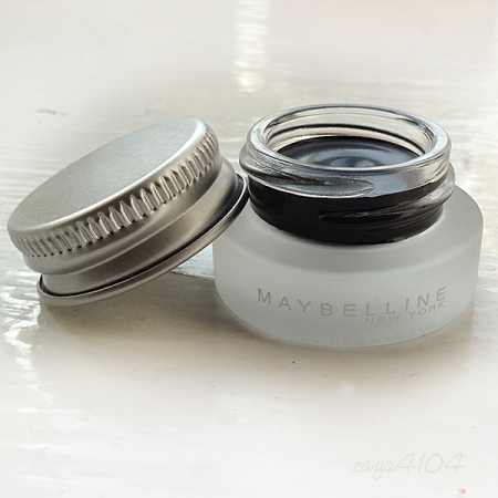 Гелевая подводка Lasting Drama Gel Eyeliner 24h (оттенок № 01 Intense Black) от Maybelline