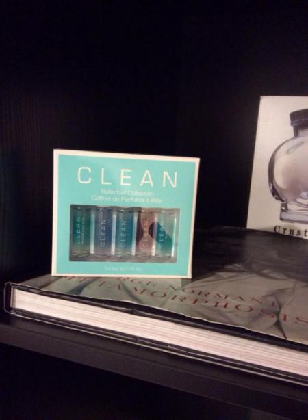 Набор миниатюр парфюма (Warm Cotton, Fresh Laundry, Shower Fresh, Skin and Rain) от Clean