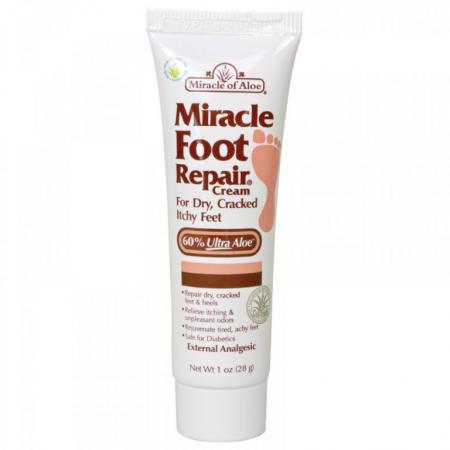 Крем для ног Восстанавливающий от Miracle of Aloe