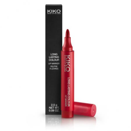 Маркер для губ Long Lasting Colour Lip Marker (оттенок № 106 Rosso mela) от KIKO