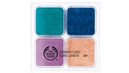 Тени Shimmer Cubes от The Body Shop