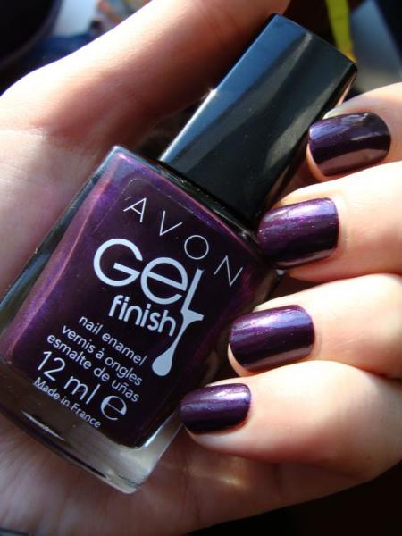Лак для ногтей Gel Finish (оттенок Perfectly Plum) от Avon