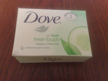 "Крем-мыло ""Прикосновение свежести"" от Dove"