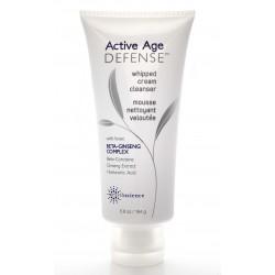 Анти-возрастное средство для умывания лица Active Age Defense, Whipped Cream Cleanser от Earth Science