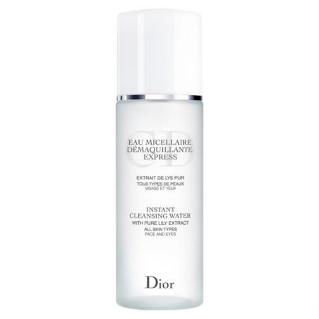 Вода для мгновенного снятия макияжа с экстрактом чистой лилии Eau Micellaire Demaquillante Express от Dior