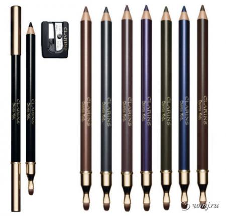 Карандаш для глаз с кистью Crayon Khol (оттенок № 06 Bronze) от Clarins