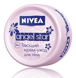 Крем-уход для тела Angel Star от Nivea