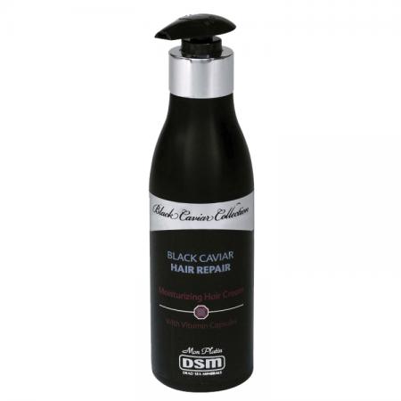 Восстанавливающий увлажняющий крем для волос Black Caviar Collection от Mon Platin