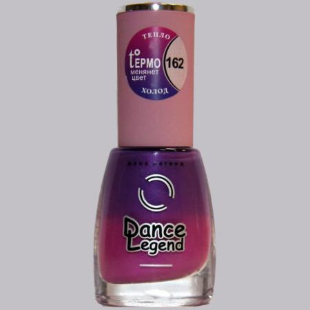 """Лак для ногтей № 162 из серии """"Термолаки"""" от Dance Legend"""