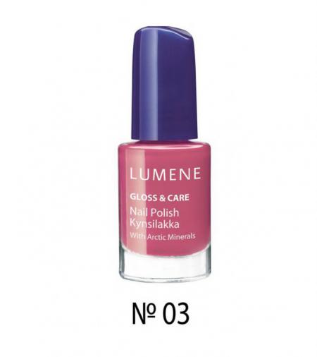 Лак для ногтей GLOSS & CARE (оттенок № 03 Rambling Rose) от Lumene