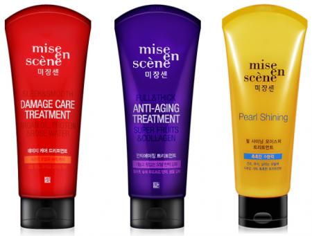 Восстанавливающая маска для поврежденных волос Miseenscene Damage от Amore pacific