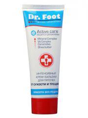 Интенсивный крем-бальзам для пяточек Dr. Foot