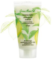 Крем для рук и ногтей с соком лимона и протеинами шелка от Green Mama