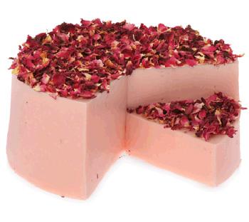 Крем-мыло Розовые объятия от Lush