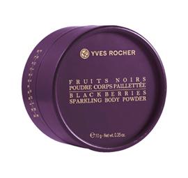 Фруктовая пудра для тела Poudre corps pailletee Fruits Noirs от Yves Rocher