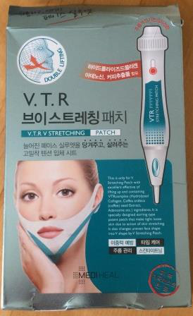 Маска для коррекции нижней трети лица V.T.R. V Stretching Patch от Medi Heal
