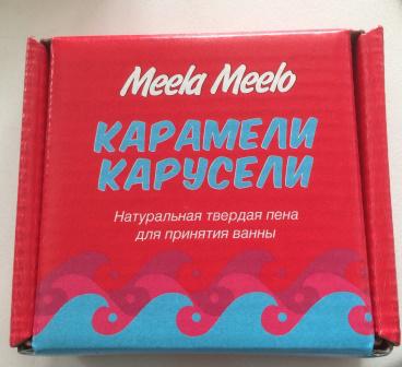 "Пена для ванны ""Карамели-карусели"" от Meela Meelo"