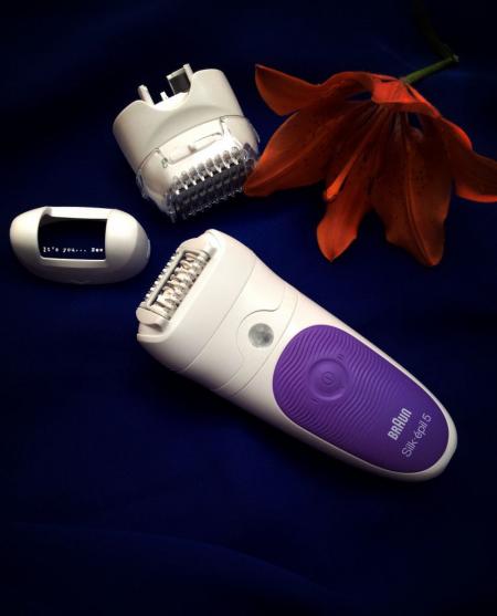 Эпилятор Silk-epil 5 Wet&Dry epilator от Braun