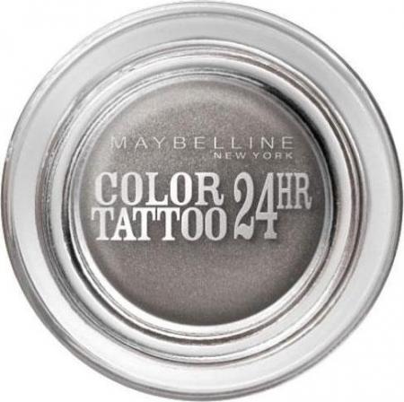 Тени для век Color tattoo (оттенок № 55 Immortal Charcoal) от Maybelline