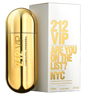 Женский парфюм 212 VIP от Carolina Herrera