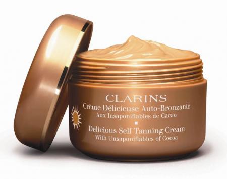 Автозагар для лица и тела Crème Délicieuse Auto-bronzante от Clarins