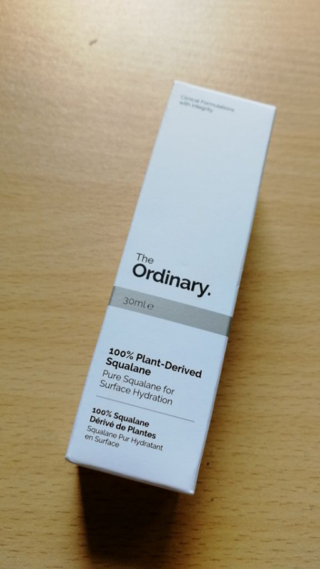 Сыворотка для лица 100% Plant-Derived Squalane от The Ordinary