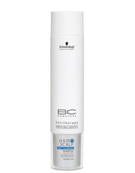Шампунь для глубокого очищения Bonacure Hair & Scalp от Schwarzkopf