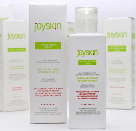 Очищающий тоник для чувствительной, жирной и проблемной кожи лица от Joyskin