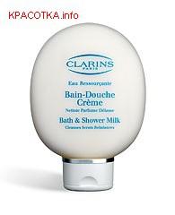 Очищающее молочко для душа Eau Ressourcante от Clarins