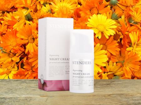 Ночной крем для нормальной и комбинированной кожи от Stenders