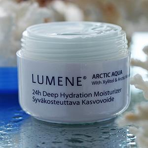 Интенсивный увлажняющий крем для лица 24 часа Arctic Aqua от Lumene
