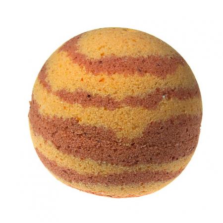 Бурлящий шар ручной работы «Бодрящий грейпфрут» от Мыловаров