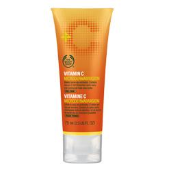 Крем-пилинг для лица Vitamin C Microdermabrasion от The Body Shop