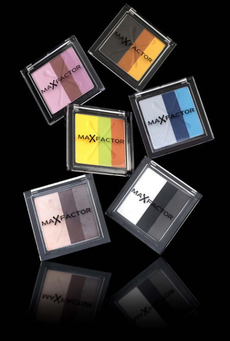 Тени для век Max Effect Trio Eye Shadows от Max Factor