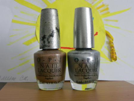 Лаки для ногтей DS 038 и DS 031 из дизайнерской серии от OPI