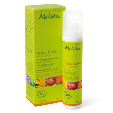 Легкий крем для жирной кожи лица от Melvita