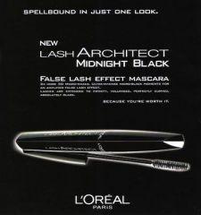 Тушь для ресниц MAKE UP LASH ARCHITECT от L'OREAL