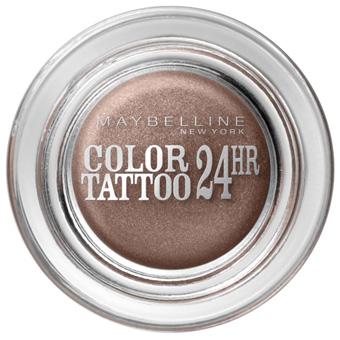 Кремовые тени для век Color Tattoo 24 HR (оттенок № 35 On and on Bronze) от Maybelline