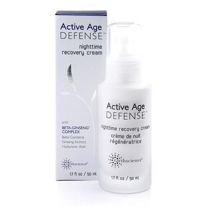 Ночной восстанавливающий крем для лица Nighttime Recovery Cream из серии Active Age Defense от Earth Science