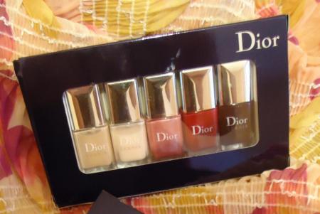 Набор лаков для ногтей Vernis La Collection от Dior