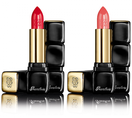 Помада для губ Kiss Kiss Lipstick Le Rouge Creme Galbant Shaping Cream Lip Colour (оттенок № 302 Romantic Kiss) от Guerlain