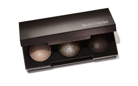 Трехцветная палетка теней Petite Baked Eye Color Bonbons (оттенок Bronze Trio) от Laura Mercier
