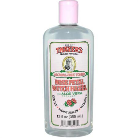 Тоник для лица с розовой водой и экстрактом гамамелиса от Thayers