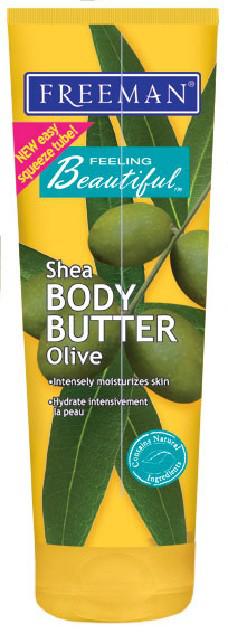 Крем для тела Shea BODY BUTTER Olive от FREEMAN