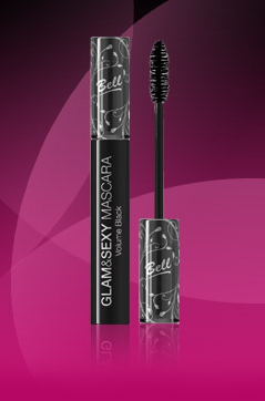 Тушь для ресниц Glam&Sexy Mascara Volume Black от BELL